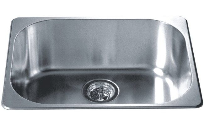 what gauge stainless steel is best for kitchen sinks top mount kitchen sink 304 stainless steel 18 10 9958
