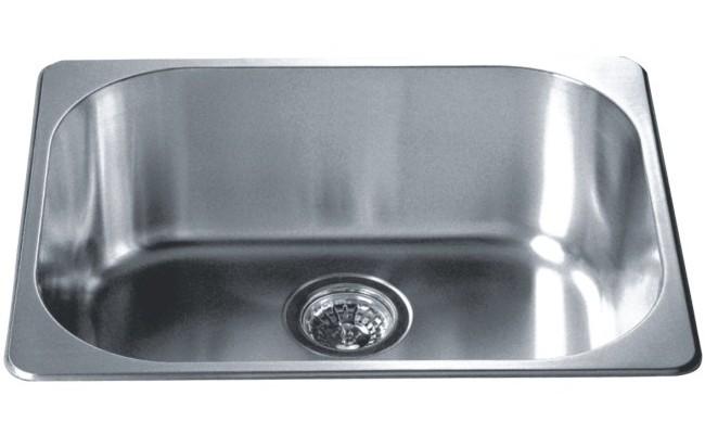 Wholesale Top Mount Kitchen Sink 304 Stainless Steel 18 10