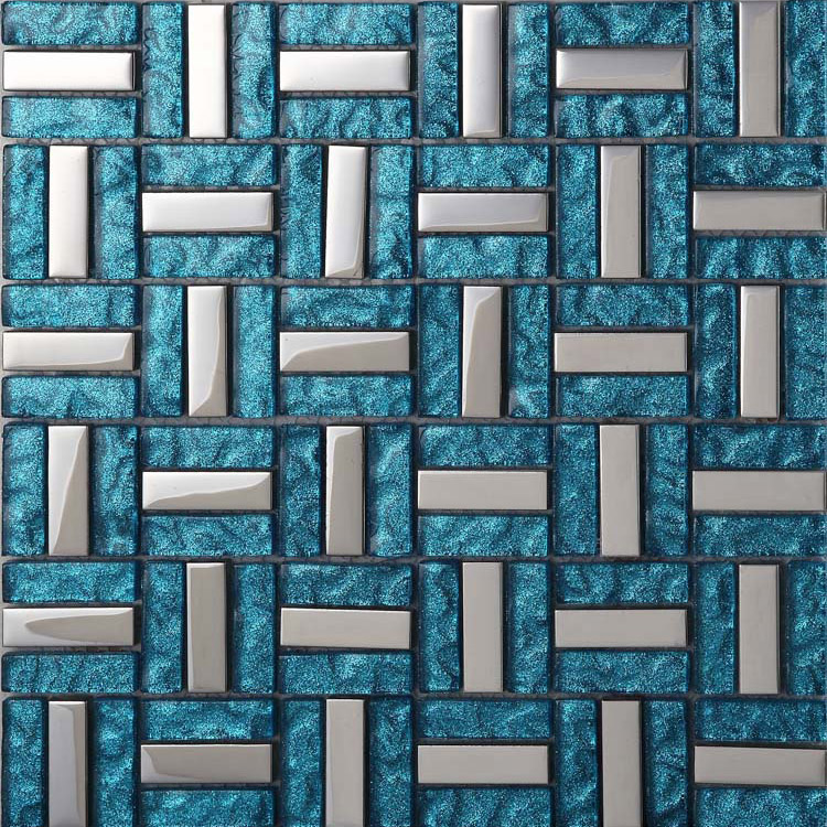 Mirrored Backsplash Tiles Wholesale Vitreous Mosaic Tile Crystal Glass Backsplash ...